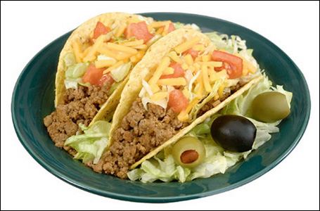 Digital Food Photography of Tacos by Dynamic Digital Advertising