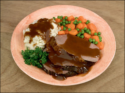 Professional Culinary Photography of Roast Beef by Dynamic Digital Advertising