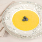 HIgh Resolution Photography of Mango Soup
