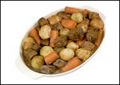 Digital Photography of Beef Stew