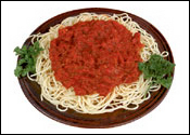 Studio Photography of Spaghetti
