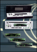 Digital Commercial Photograph of Car Stereos